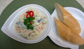 Domácí rybí salát s Moravankou