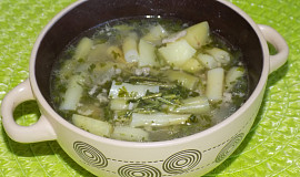 Fazolková polévka s mletým masem