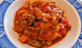 Mořské plody se zeleninou  (Dělená strava podle LK - Zvířata)