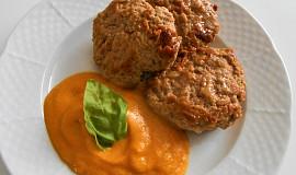 Olomoucké karbanátky s mrkvovo-zázvorovým pyré  (Dělená strava podle LK - Zvířata)