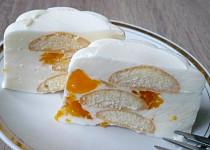 Tvarohové nepečené bábovičky s mandarinkami