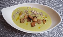 Krémová cuketová polévka s bramborem