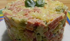 Vlašský salát, trochu retro