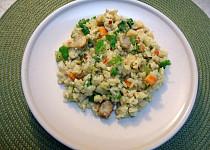 Rychlý bezmasý oběd s rýží