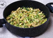 Kuřecí s brokolicí a smetanou