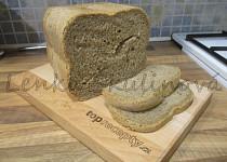 Žitný chléb přímo z domácí pekárny