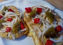 Chlebové smaženky s vejci