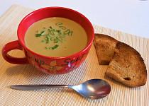Polévka krémová brokolicová  (Dělená strava podle LK - Kytičky + zelenina)