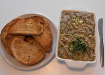 Vegan rybičková pomazánka  (Dělená strava podle LK - Kytičky + zelenina)
