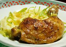 Kuře na talíři