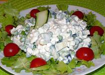 Salát s cottage
