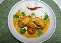 Kuřecí kousky z indické kuchyně