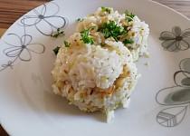 Rizoto s rybím filé