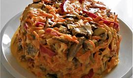 Salát s vepřovým srdcem  (Dělená strava podle LK - Zvířata)