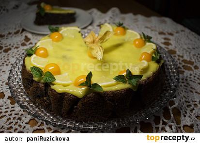 Makovec s citronovým krémem
