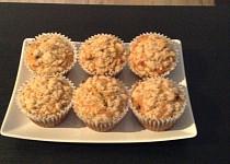 Mrkvové muffiny s drobenkou