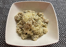 Rýže s žampiony