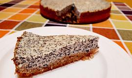 Tvarohovo - makový koláč, jednoduchá příprava
