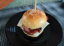 Kynuté bulky, burger