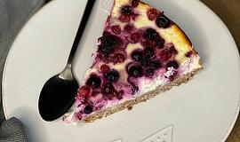 Zdravý cheesecake s lesním ovocem