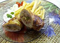 Kuřecí roládka z horkovzdušné fritézy
