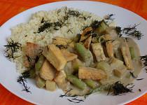 Thajské zelené kari s tofu