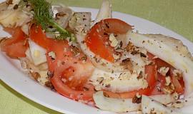Fenyklovo-rajčatový salát