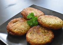 Moravské bramboráky s uzeným masem