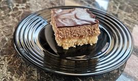 Ořechové řezy polité čokoládou