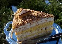 Báječný Margot dort / řez