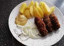 Čevabčiči s bramborem
