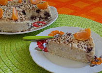 Jáhlovo-tvarohový koláč