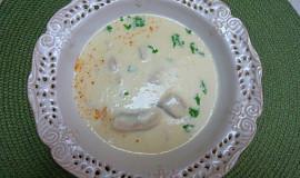 Skotská smetanová rybí polévka