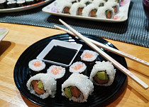 Sushi (recept + fotopostup)