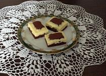 Čokoládový koláč s tvarohem