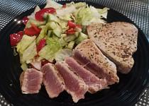 Steak z tuňáka se zeleninou (dietní)