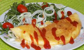 Vaječná omeleta s Nivou