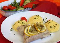Filet z mořské ryby v alobalu