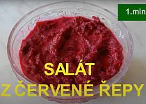 Salát z červené řepy za 1 minutu