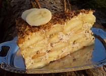 Svěží Margot dort s banány - nepečený