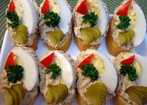 Pikantní makrelová pomazánka