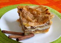 Tvarohovo-jabkové lasagne