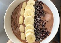 Smoothie bowl čokoládové