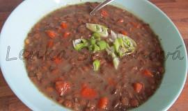 Čočková polévka s mrkvičkou I.