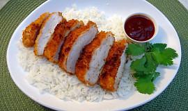 Japonské kuřecí řízečky Tori Katsu