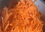 nastrouhaná mrkev