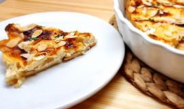 Clafoutis - koláč s chřestem a camembertem (pečený v remosce)