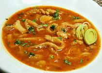 Dršťková polévka pro fajnšmekry