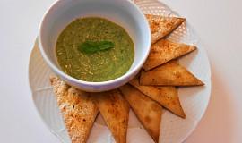 Tortillové chipsy a avokádová salsa  (Dělená strava podle LK - Kytičky+ ovoce)