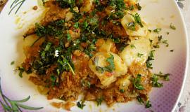 Zapečené brambory na italský způsob